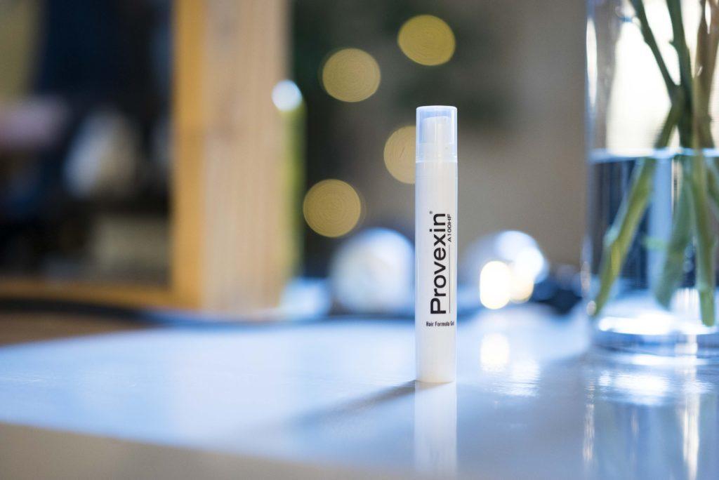 En flaske Provexin på bordet